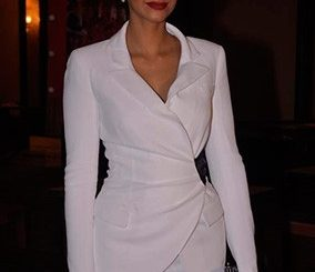 Sonam kapoor wearing power suit