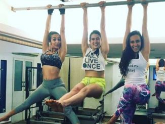 Bollywood actresses working out